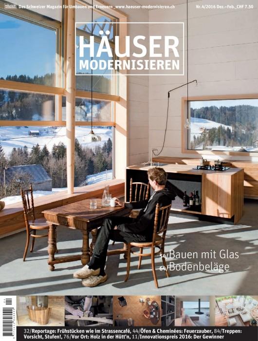 Beitrag im HÄUSER modernisieren  - Tapetenraum GmbH, Horgen