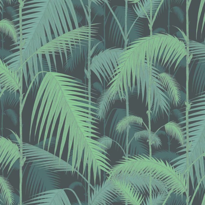Palm Jungle - grün - Tapetenraum GmbH, Horgen