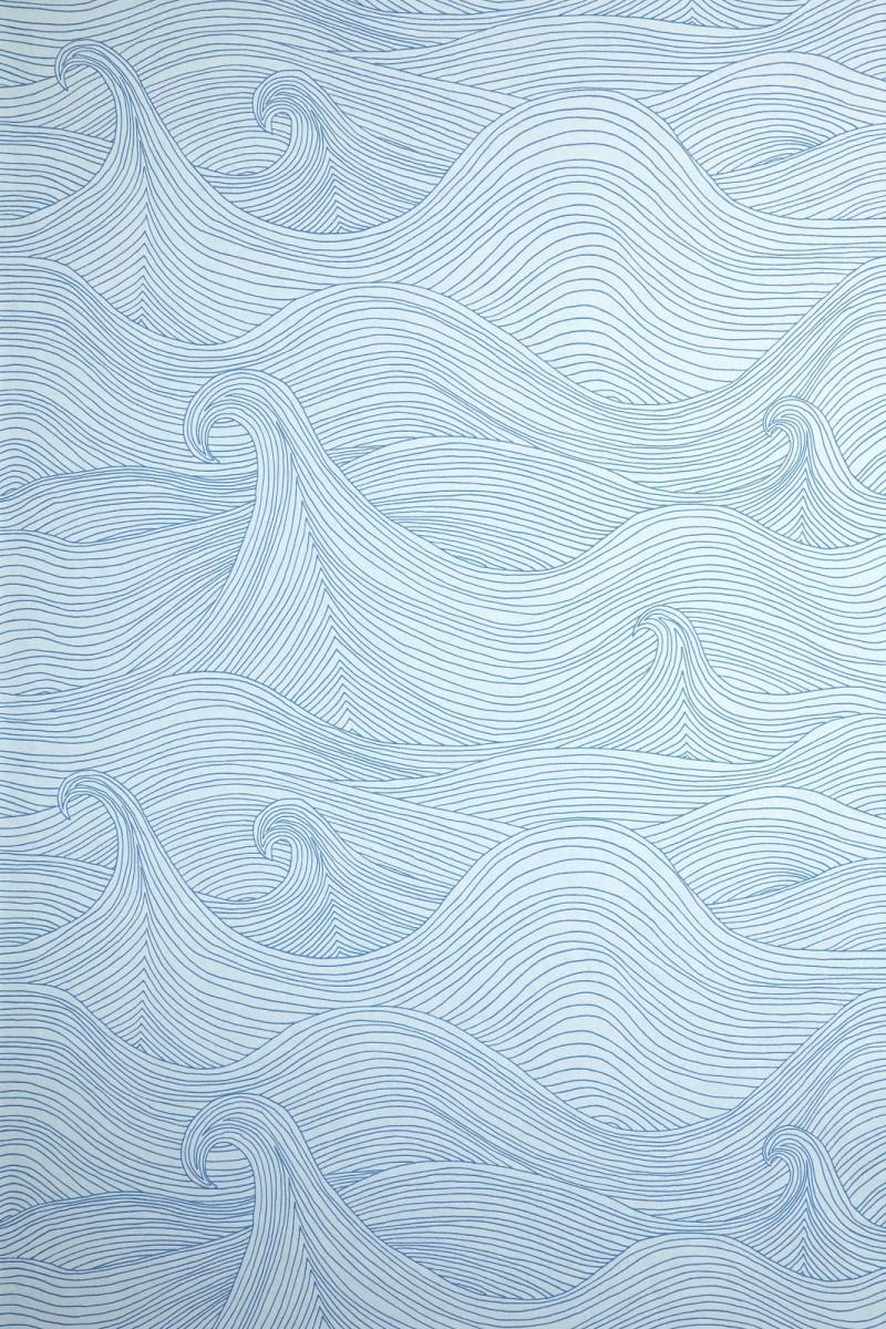 Seascape - blau - Tapetenraum GmbH, Horgen