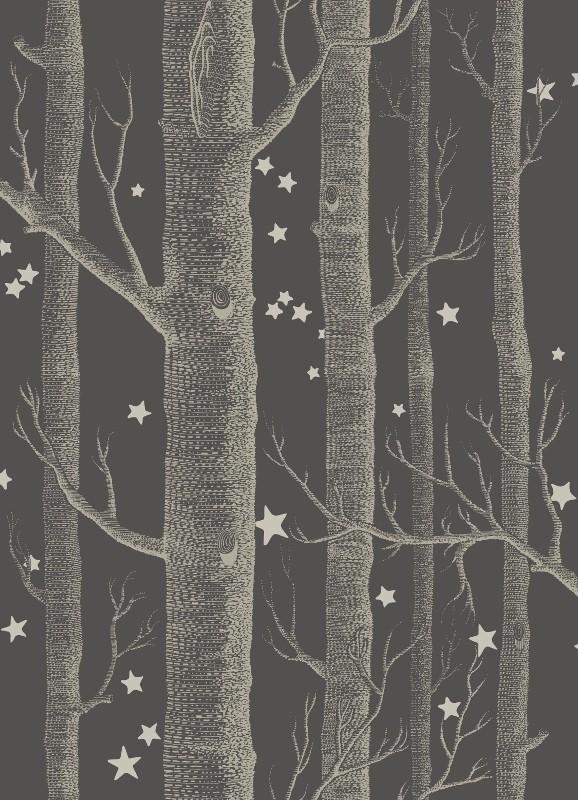 Woods & Stars - schwarz - Tapetenraum GmbH, Horgen