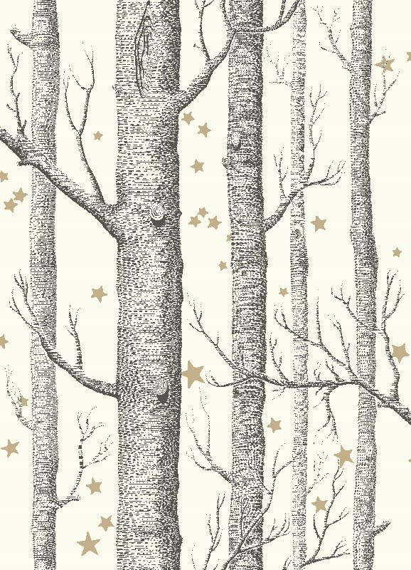 Woods & Stars - écru - Tapetenraum GmbH, Horgen
