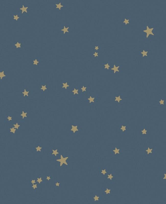 Stars - blau - Tapetenraum GmbH, Horgen